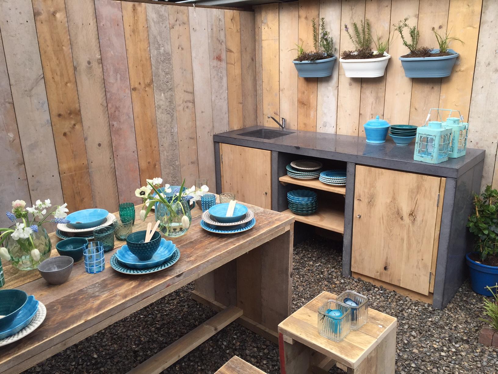 Buitenkeuken eigen huis en tuin keuken voor buiten for Deuntje eigen huis en tuin